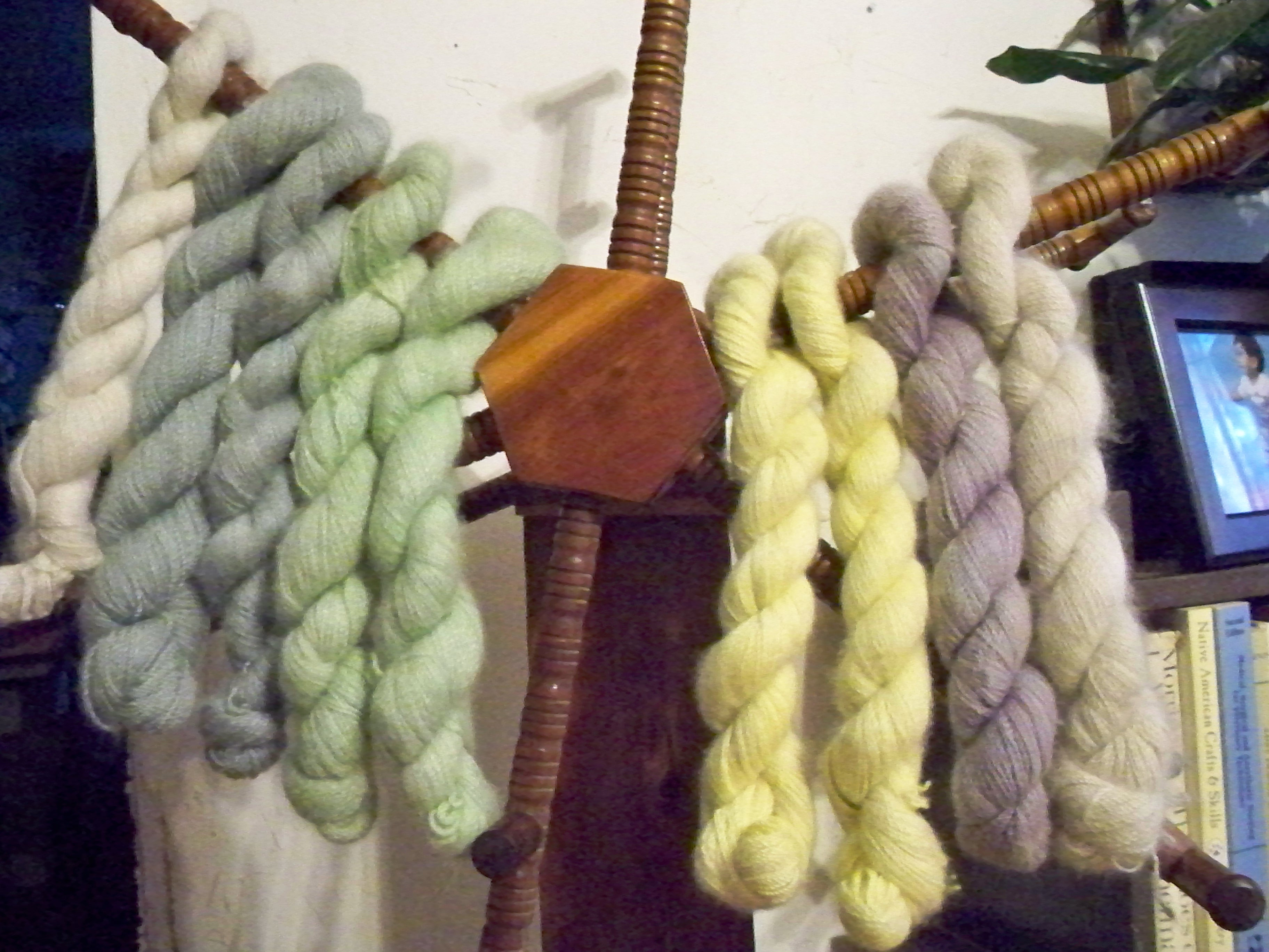 Assorted Dyed cashmere Yarn
